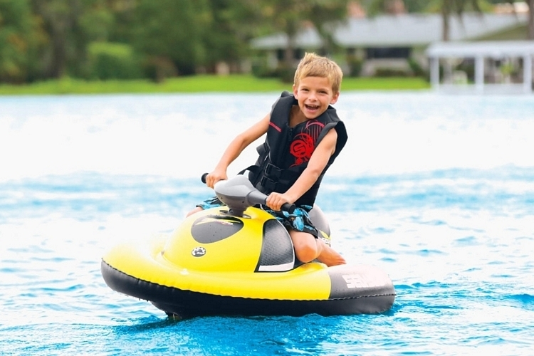 Lake Toys For Boys : Sea doo inflatable water scooter