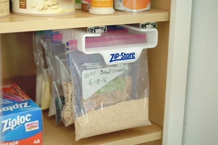 Zip N Store Ziplock Bag Organizer