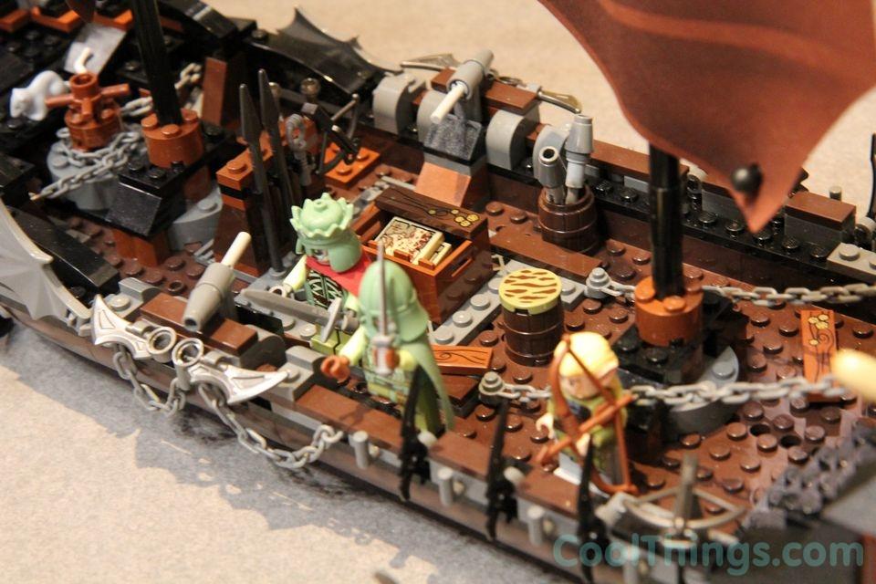Lego Lord Of The Rings Pirate Ship Ambush Pics