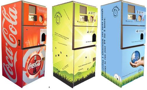 Envirobank Reverse Vending Machines Make Recycling Easier