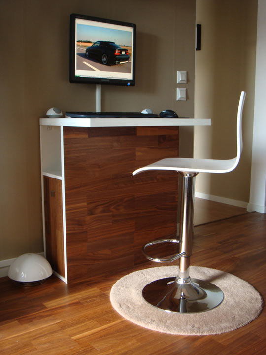 Bar Desk Your Workstation As A Home Bar