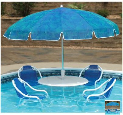 Check Out The Brand New Swimming Pool Bistro A Complete Patio Furniture Set With Special Water Talents