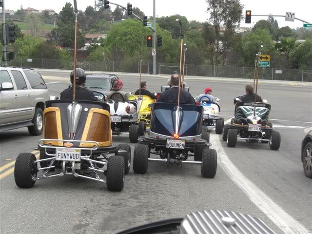 Motorized Bumper Cars