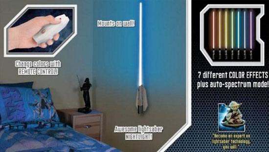 lightsaber bedroom light wars lightsaber room light keeps the strong in 12127