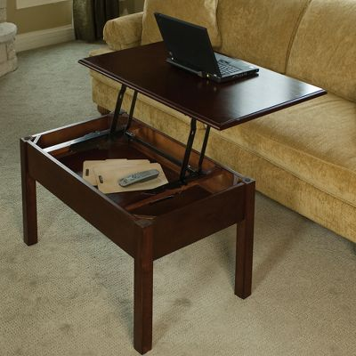 Tremendous Convertible Coffee Table Turns Into Work Desk Caraccident5 Cool Chair Designs And Ideas Caraccident5Info