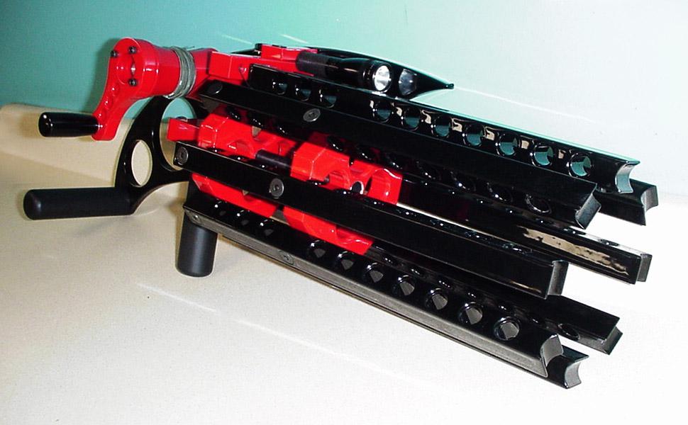 Rubber Band Gatling Gun Looks More Menacing Than Many Real Guns