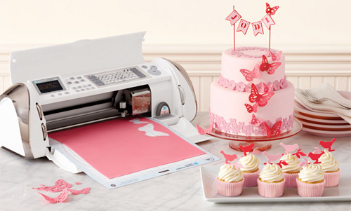 image regarding Edible Printable Paper for Cakes identify Cricut Cake Delivers Digital Craft Towards Edible Product