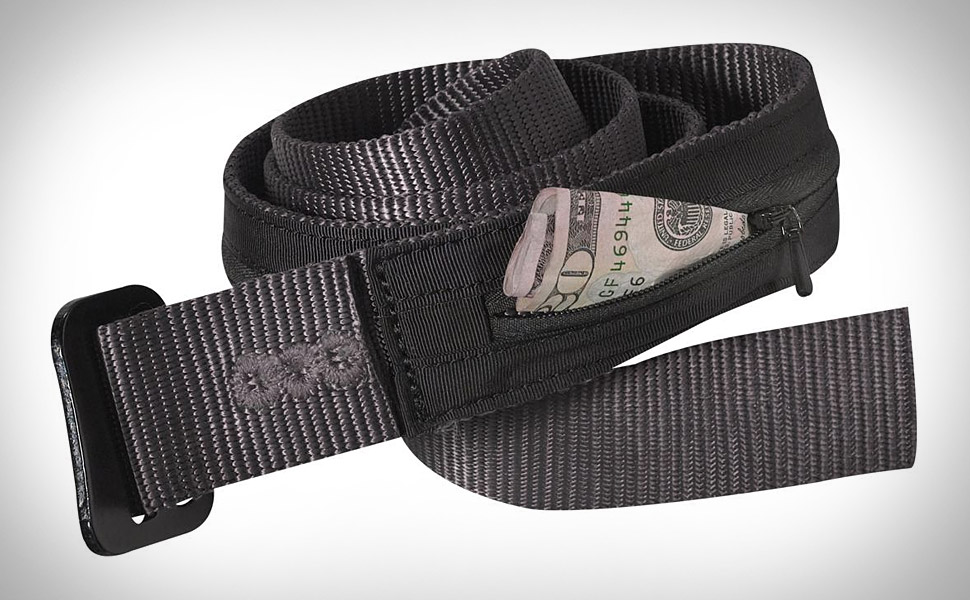 Patagonia Travel Belt Hides A Wallet On The Band S Inner Side