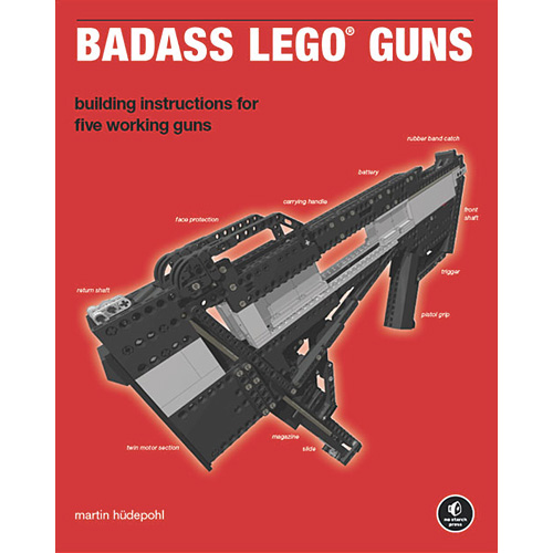 Badass LEGO Guns Book Shows You How To Build Novelty Weapons