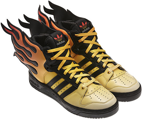 Shoes On Fire: Adidas Originals Jeremy Scott Flames