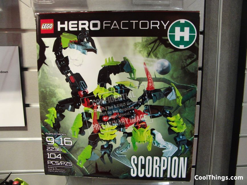 Lego Hero Factory 3 0 Pics With New Villian Witch Doctor