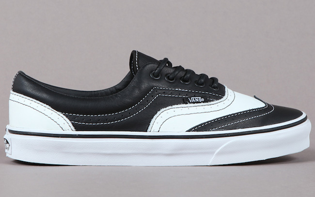 6ea465df48c4 Vans Leather Era Wingtip Skate Shoes Look Like Oxfords