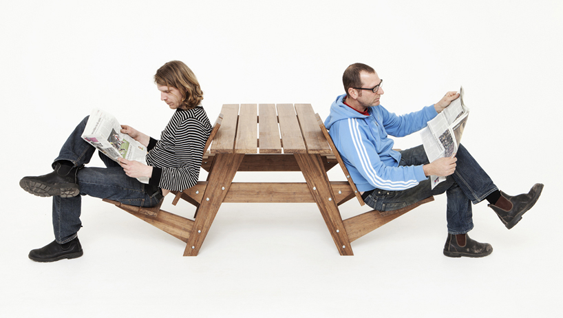 Fine Another Picnic Tables Seats Can Convert Into Recliners Beatyapartments Chair Design Images Beatyapartmentscom