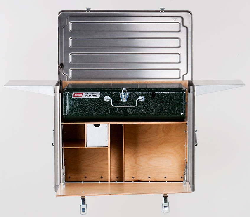 Field Kitchen K120 Hides Your Primary Cooking Equipment ...