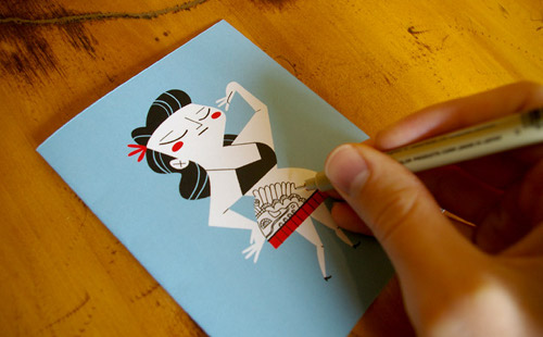 Tattoo It Yourself Card Lets You Express Your Greeting In Body Art