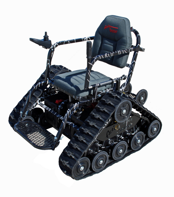 Enjoyable Action Trackchair Is An All Terrain Wheelchair Download Free Architecture Designs Scobabritishbridgeorg