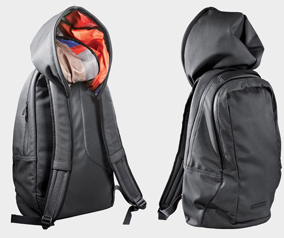 c4cfe8dd9a Puma Urban Mobility Backpack Features Built-In Hood