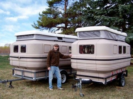 Teal Panels Let You Build Modular Campers And Temporary Dwellings