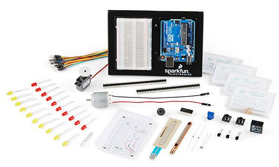 Starter Arduino Kit Comes With A List Of Cool Parts And Projects