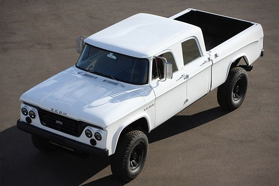 Old Dodge Trucks >> Icon D200 Brings Old And New Dodge Trucks Together