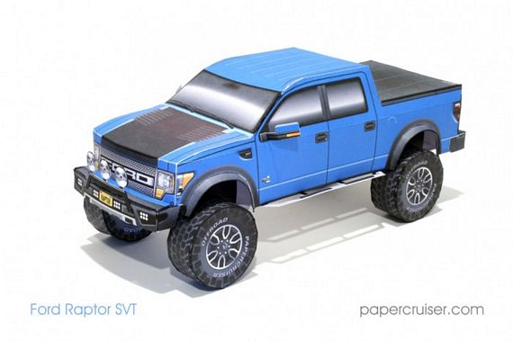 Papercruiser Foldable Model Vehicles: Build Your Own Fleet Of