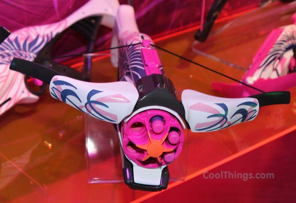 Hasbro's Nerf Rebelle Blasters Bring Foam Warfare To Girls