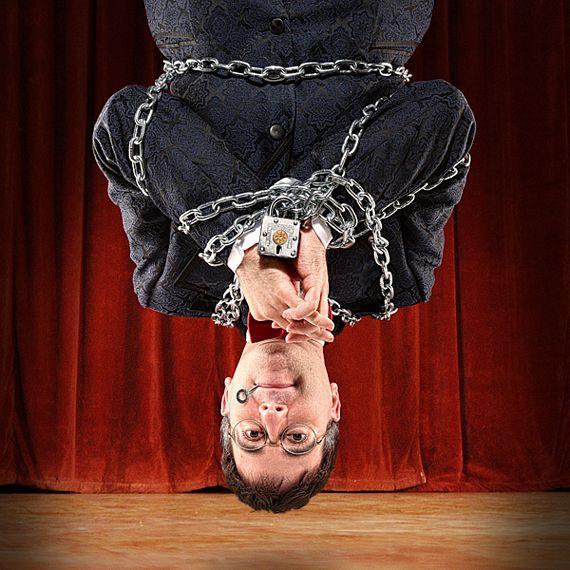 Houdini Puzzle Lock Looks Interesting
