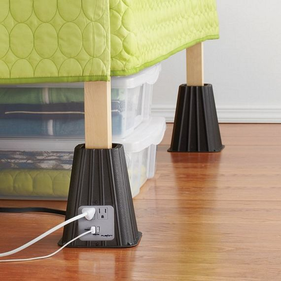 8 Quot Power Bed Riser Also Charges Your Gadgets