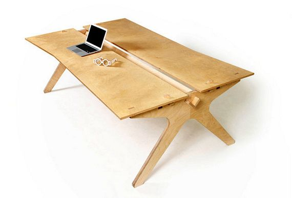 OpenDesk Provides Downloadable CNC-Ready Furniture Designs