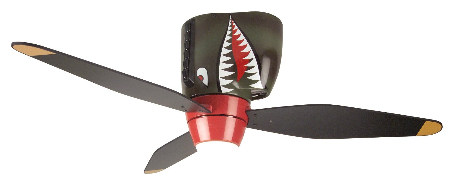 Tiger Shark Warplane Ceiling Fan Puts Iconic WW2 Aircraft In Your ...