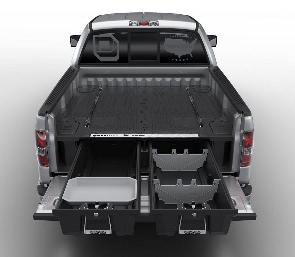 Truck Bed Storage Drawers >> Decked Adds Drawers To Your Pickup Truck Bed For Maximizing