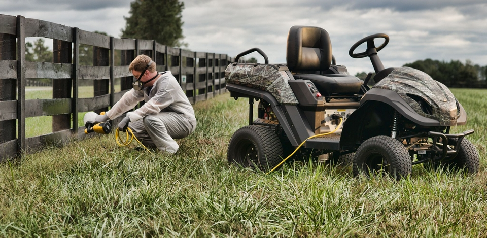 Raven Mpv7100s Combines Lawn Mower Atv And Generator In One Machine
