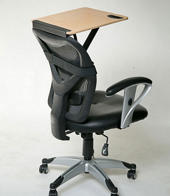 Excellent Storkstand This Portable Tray Can Convert Office Chairs Bralicious Painted Fabric Chair Ideas Braliciousco