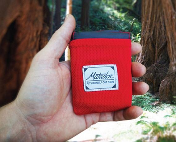 This 55 44 Inch Matador Pocket Blanket Can Fold Smaller Than