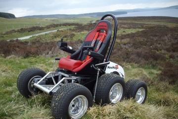 Hexhog all terrain wheelchair