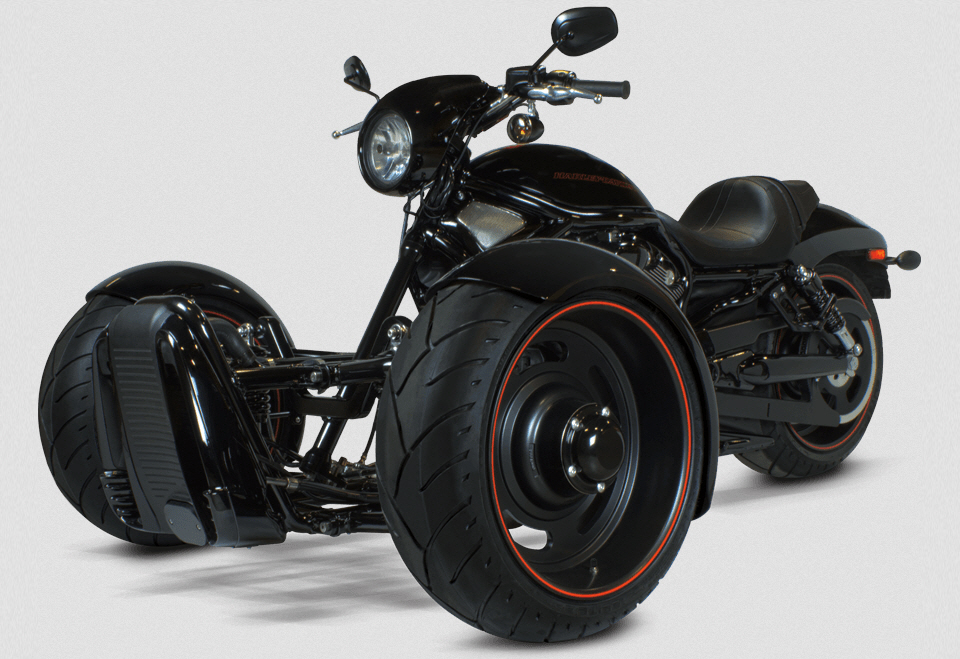 d35513731ec Scorpion Trike Conversion Kit Turns Your V-Rod Into A Reverse Muscle Trike