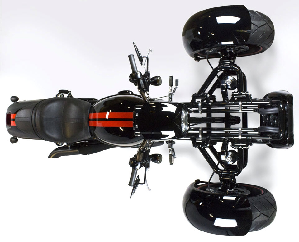 Scorpion Trike Conversion Kit Turns Your V-Rod Into A Reverse Muscle
