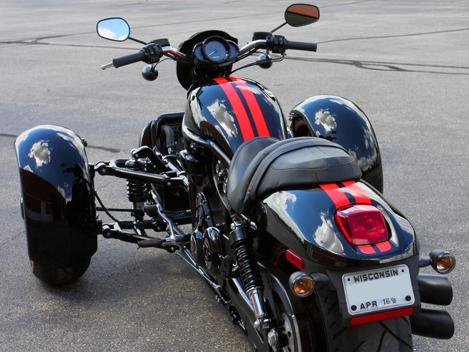 Scorpion Trike Conversion Kit Turns Your V-Rod Into A