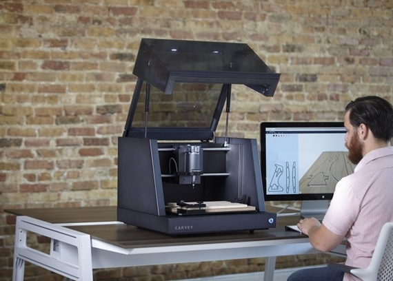 Surprising Carvey Might Be The Best Looking Desktop Cnc Mill Weve Seen Download Free Architecture Designs Embacsunscenecom