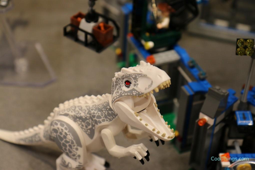 World Jurassic Set Rex Breakout Indominus 8OPXn0wk