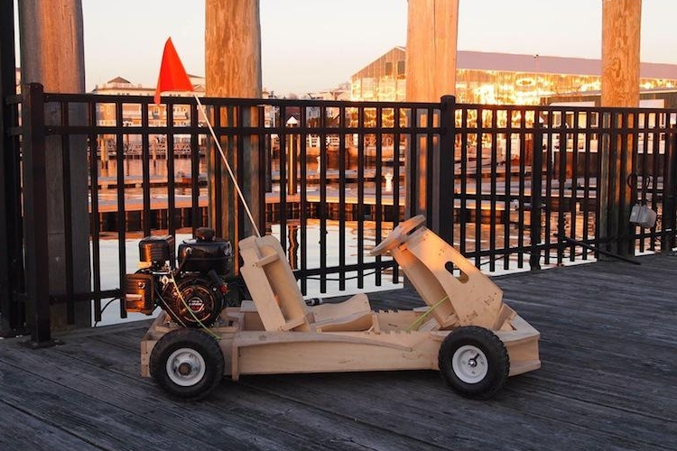 DIY PlyFly Wooden Go-Kart Kit