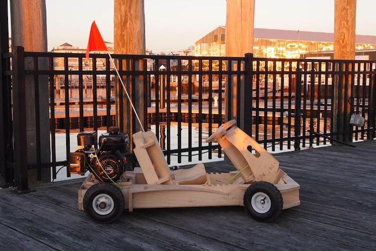 Diy Plyfly Wooden Go Kart Kit