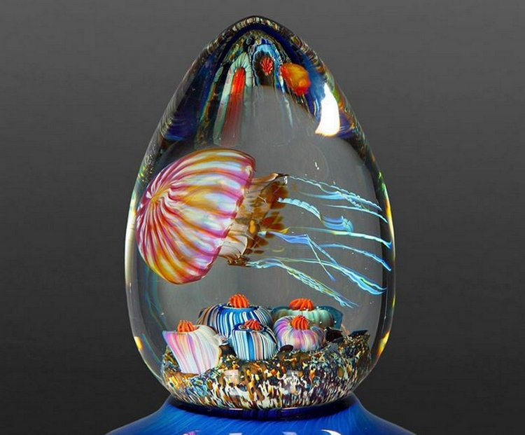Rick Satava S Jellyfish Glass Sculptures