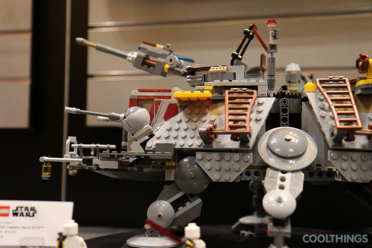 Lego Star Wars Set 75157 Captain Rex S At Te
