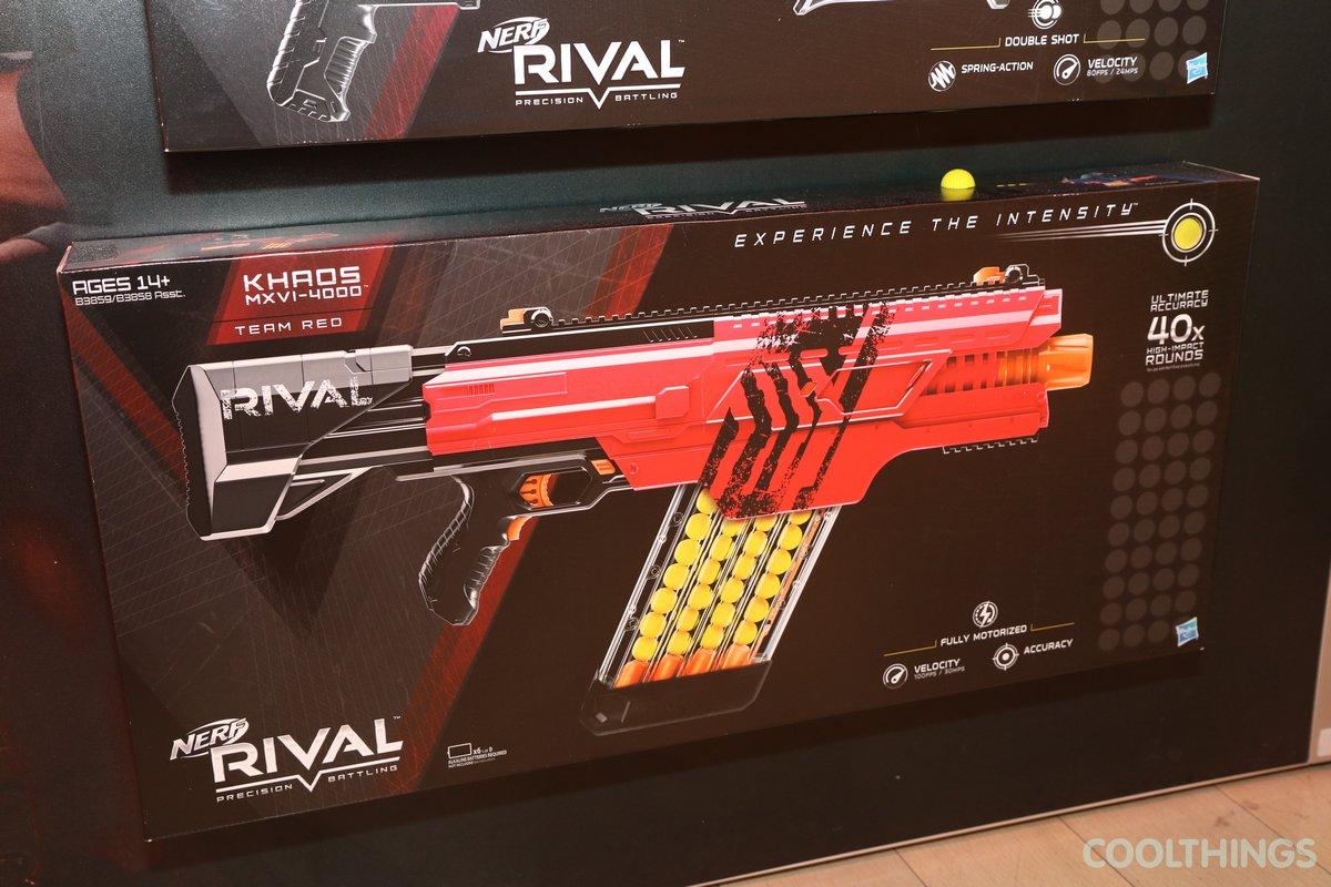 Nerf Rival Khaos MXVI 4000 red