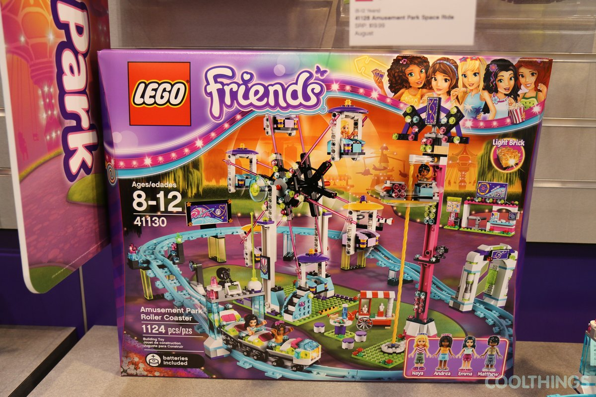 Friends Lego Amusement Park 41130 Roller Coaster New