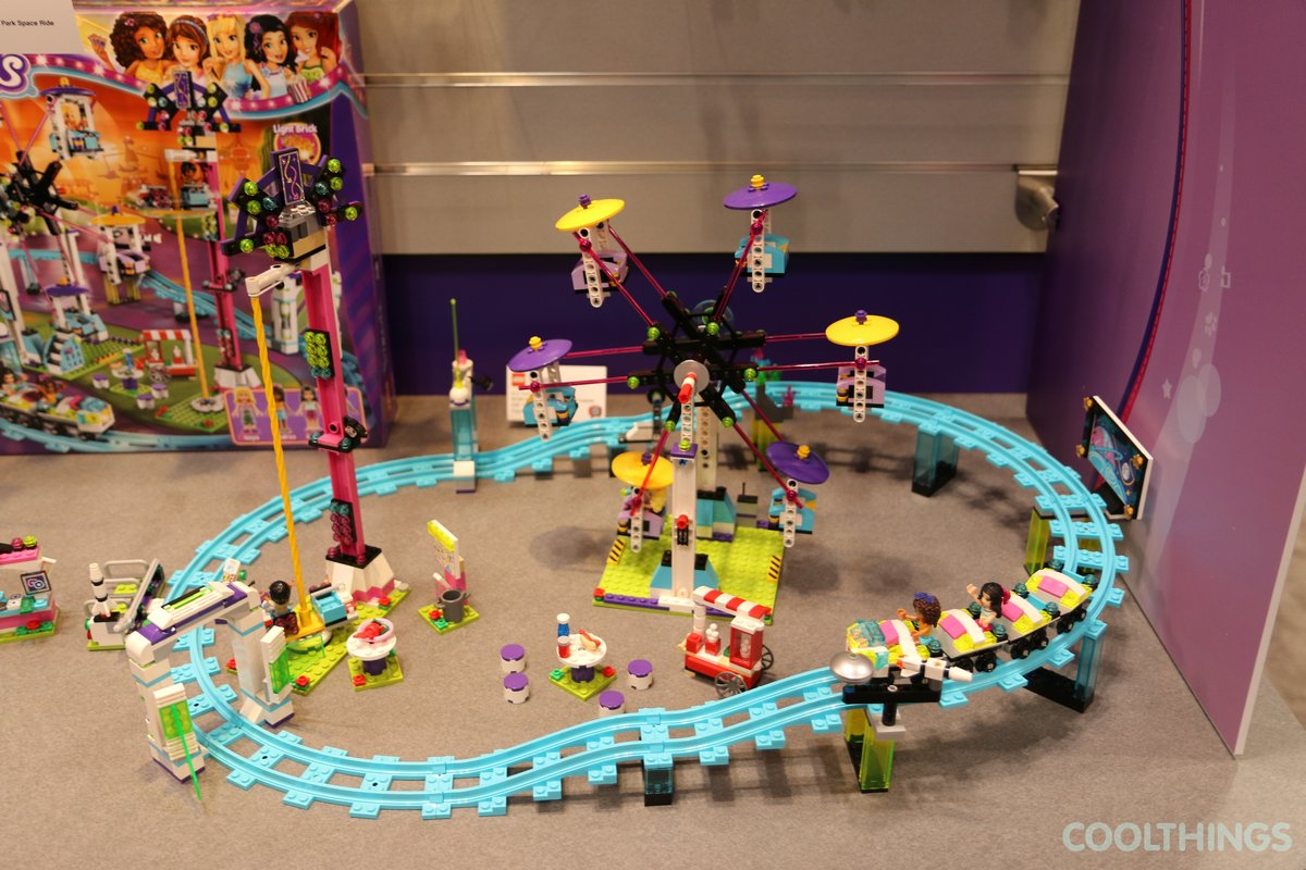 Lego Friends 41130 Amusement Park Roller Coaster 11