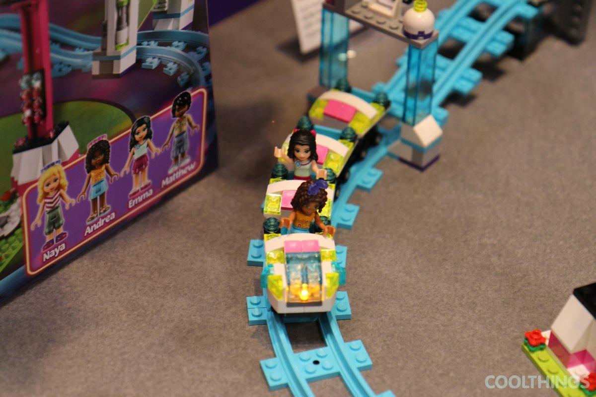 Lego Friends Set 41130 Amusement Park Roller Coaster