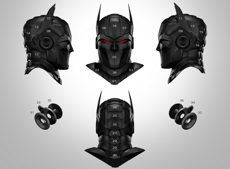 zortrax-3D-printed-superhero-mask-2
