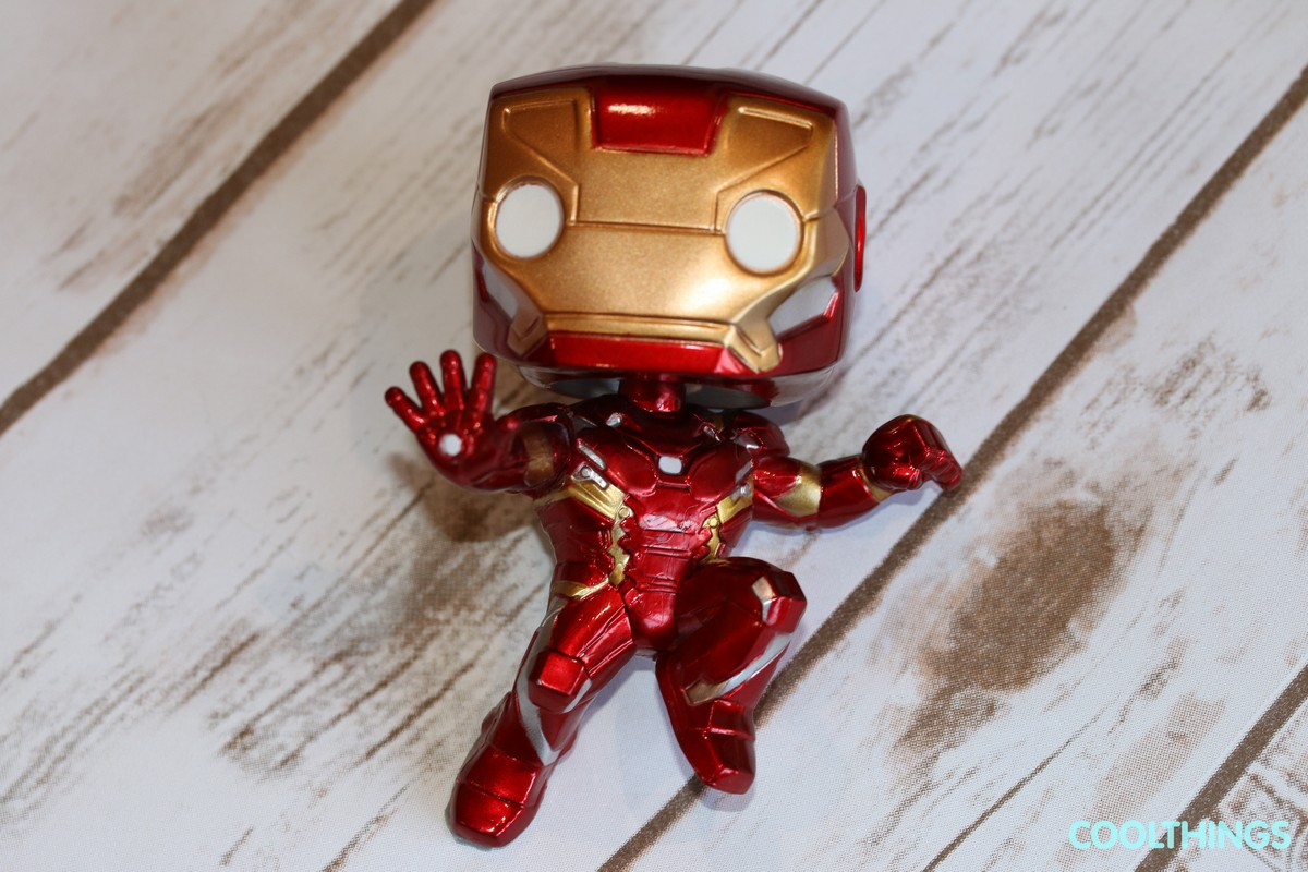 Marvel Civil War Iron Man Funko Pop Vinyl Figure